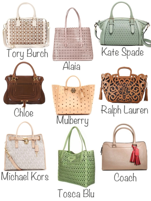 peforacted bags
